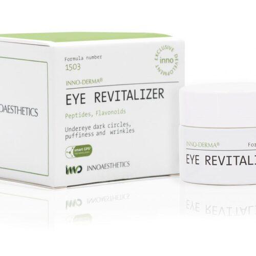 INNO-DERMA EYE REVITALIZER noorendav ja elavdav silmakreem flavonoidide ja peptiididega